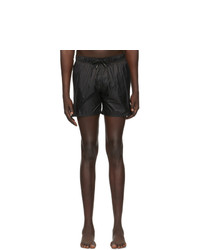 Ermenegildo Zegna Black Nylon Swim Shorts