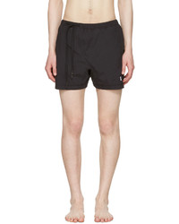11 By Boris Bidjan Saberi Black Nylon Swim Shorts