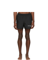 Givenchy Black Paris Swim Shorts