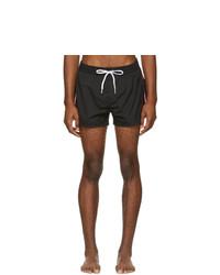 Diesel Black Striped Bmbx Sandy Swim Shorts
