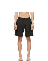 Acne Studios Black Swim Shorts