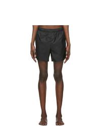 Acne Studios Black Warwick Swim Shorts