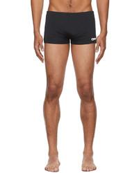 Off-White Black White Logo Active Swim Shorts