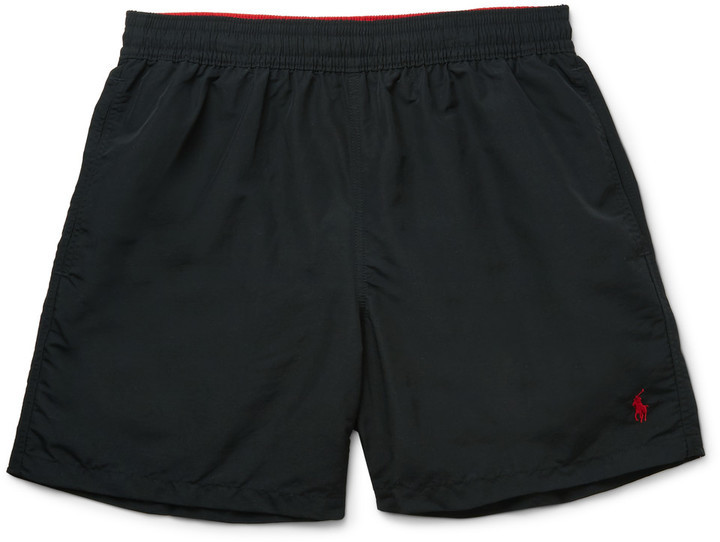 8b3e950d5f Polo Ralph Lauren Hawaiian Mid Length Swim Shorts, $60 | MR PORTER ...