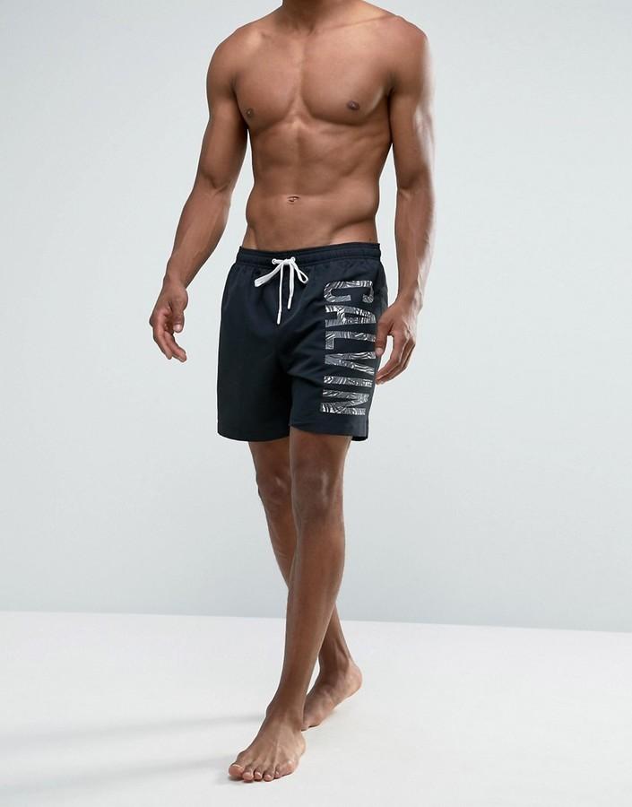 b9d7690b3f ... Black Swim Shorts Calvin Klein Id Intense Power Plus Swim Shorts ...