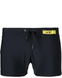 Moschino Logo Waistband Swim Shorts