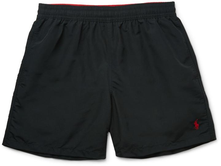 ... Polo Ralph Lauren Polo Ralph Lauren Hawaiian Mid-Length Swim Shorts