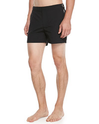 Orlebar Brown Setter Short Length Swim Trunks Black