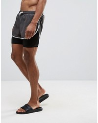 84b5b7cc4d ... Asos Swim Shorts With Extreme Side Split And Stretch Double Layer