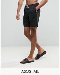 7420303089 Men's Black Swim Shorts from Asos | Men's Fashion | Lookastic.com