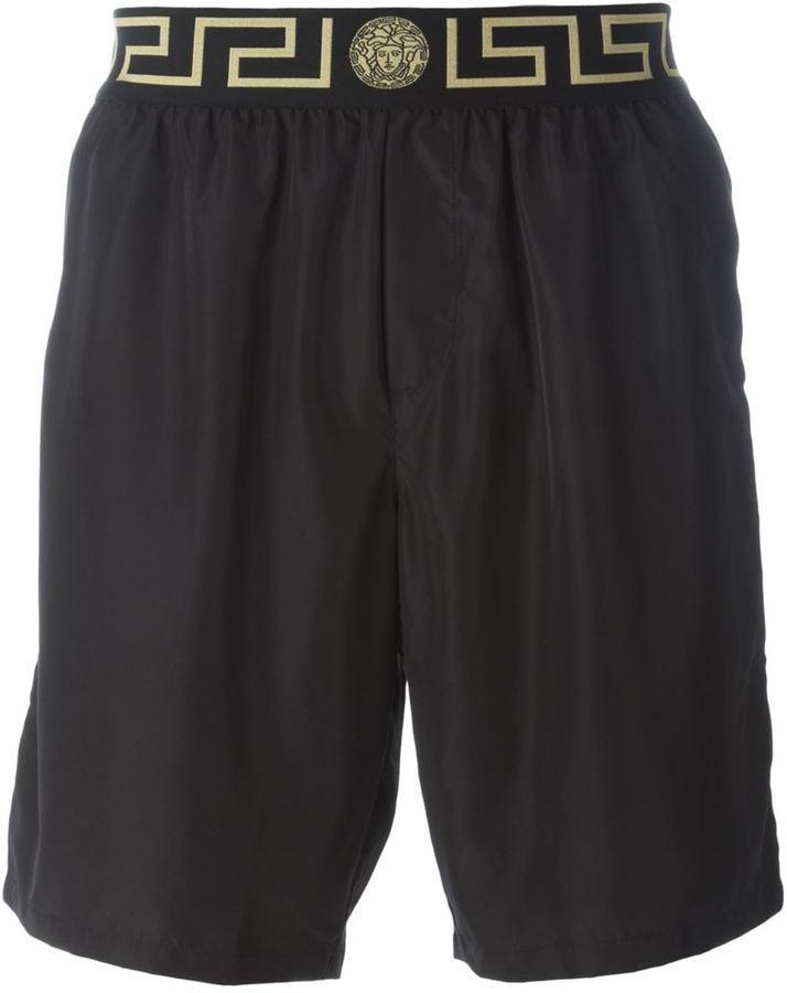 b5c719148d Versace Iconic Greca Medusa Swim Shorts, $218 | farfetch.com ...