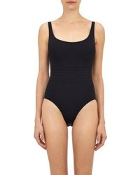 Eres Asia One Piece Tank Swimsuit Black