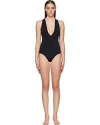 Dion Lee Black 3d Filter Swimsuit