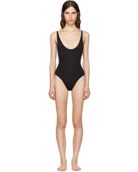 Proenza Schouler Black Lace Back Swimsuit