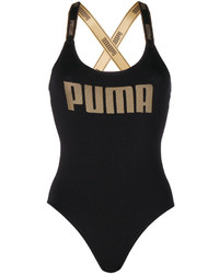 Puma Gold Tone Logo Bodysuit