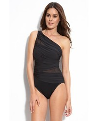 Miraclesuit Jena One Piece Swimsuit Black 14