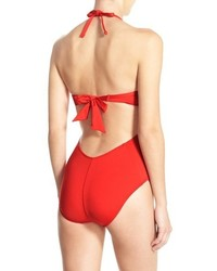 Kenneth Cole New York Push Up One Piece Swimsuit