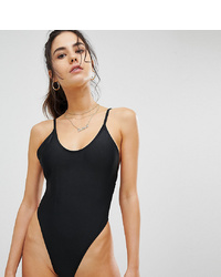 Missguided Super High Leg Thong Swimsuit