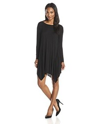Olive Oak Long Sleeve Novelty Swing Dress