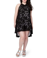 Rachel Roy Rachel Jacqueline Burnout Swing Dress
