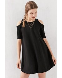 f242cada80b ... Silence   Noise Silence Noise Cold Shoulder Knit Frock Dress