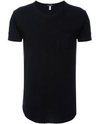 R 13 R13 Curved Hem T Shirt