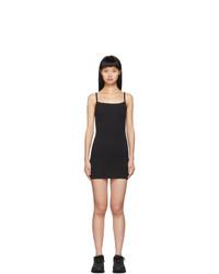 Gil Rodriguez Black Lapointe Mini Tank Dress
