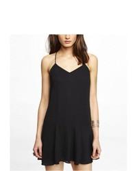 Express Drop Waist Cami Dress Black 10