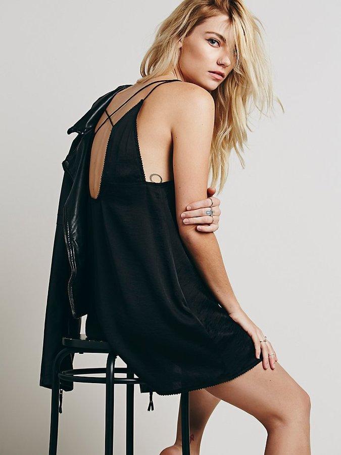 ad3363c7602 ... Black Tank Dresses Free People Intimately Just Because Slip ...