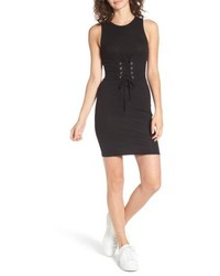 Ribbed corset tank dress medium 5255753