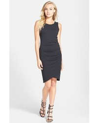 Ruched body con tank dress medium 394861