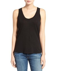 AG Jeans Ag The Corey Cotton Cashmere Tank