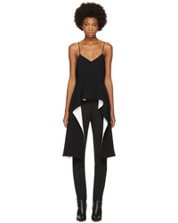 Givenchy Black Draped Hem Camisole