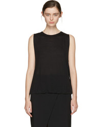 Acne Studios Black Elna Tank Top