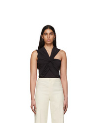 Isabel Marant Black Galina Tank Top