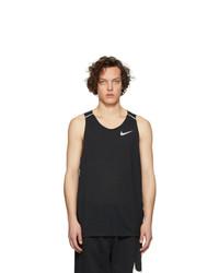 Nike Black Rise 365 Tank Top