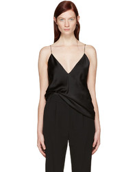 Haider Ackermann Black Satin Camisole