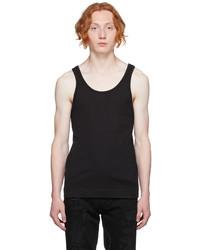 Givenchy Black Slim Fit Tank Top