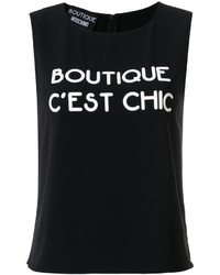 Moschino Boutique Logo Tank Top