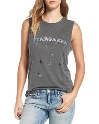 Daydreamer Stargazer Distressed Muscle Tee