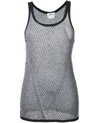 DKNY Sheer Tank Top