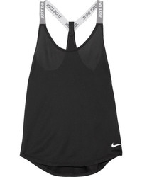 Nike Elastika Stretch Jersey Tank Black
