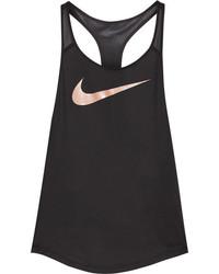Nike Flow Dri Fit Stretch Jersey Tank Black