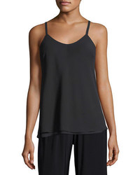 Nic+Zoe Paired Up Scoop Neck Layered Tank Petite