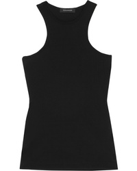 Goldsign Ribbed Stretch Jersey Tank