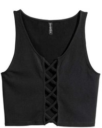 H&M Tank Top With Lacing