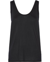 The Row Thomaston Jersey Tank Black
