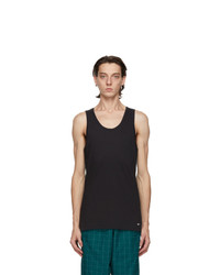 Nike Two Pack Black Cotton Everyday Tank Tops