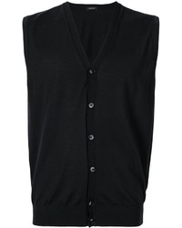 Z Zegna V Neck Button Tank