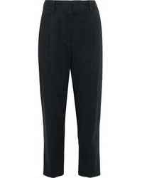 3.1 Phillip Lim Cotton Blend Twill Tapered Pants